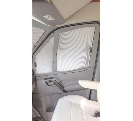 REMİS Mercedes Sprinter - VW Crafter Sağ Yan Cam Güneşlik Gri